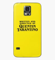 Written and Directed by Quentin Tarantino (dark) Case/Skin for Samsung Galaxy