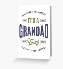 It's a Grandad Thing | Gift for Him! Greeting Card