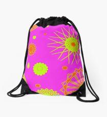 Warm Patterns Drawstring Bag
