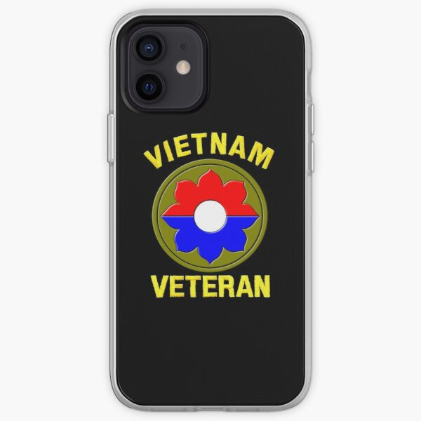9th Infantry Division (Vietnam Veteran iPhone Soft Case