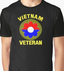 9th Infantry Division (Vietnam Veteran Graphic T-Shirt