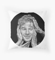 Benedict Cumberbatch Throw Pillow