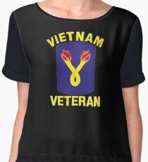 The 196th Infantry Brigade Vietnam Veteran Chiffon Top