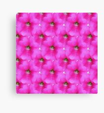Natural Flowers Series - Hot Pink and Green Canvas Print