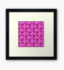 Natural Flowers Series - Hot Pink Framed Print