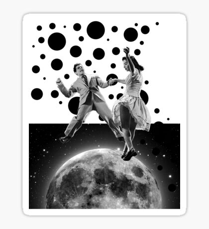 Moon dance 2 Sticker