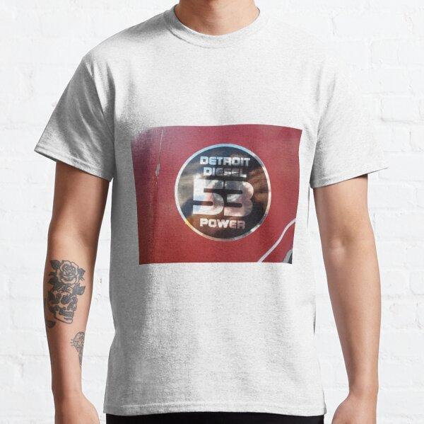 Detroit Diesel 53 Power - bonnet decal Classic T-Shirt