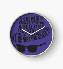 106 Miles to Chicago  The Blues Brothers Clock