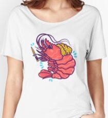 Shrimpuru Women's Relaxed Fit T-Shirt