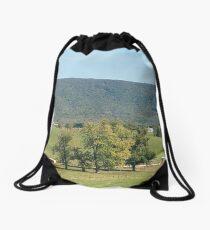 Farmland Drawstring Bag