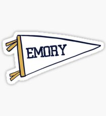 Emory Flag Sticker