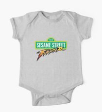 Sesame Street Fighter One Piece - Short Sleeve