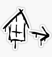 Left 4 Dead - Safehouse [black] Sticker