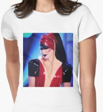 Latex Runway - Detox closeup Women's Fitted T-Shirt