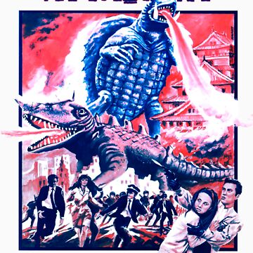 Gamera French by impossiblefunky