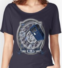 Doctor Who - Time Line Swirl Women's Relaxed Fit T-Shirt