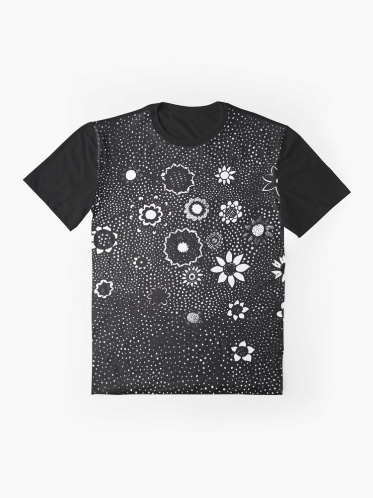 Alternate view of Flower Rain Graphic T-Shirt