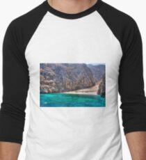 Yiali Beach Men's Baseball ¾ T-Shirt