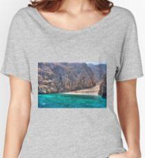Yiali Beach Women's Relaxed Fit T-Shirt