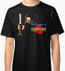 The Revenge of Shinobi (Genesis Title Screen) Classic T-Shirt