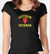 25th Infantry Div. Vietnam Veteran T-shirt Women's Fitted Scoop T-Shirt