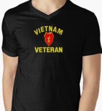 25th Infantry Div. Vietnam Veteran T-shirt Men's V-Neck T-Shirt