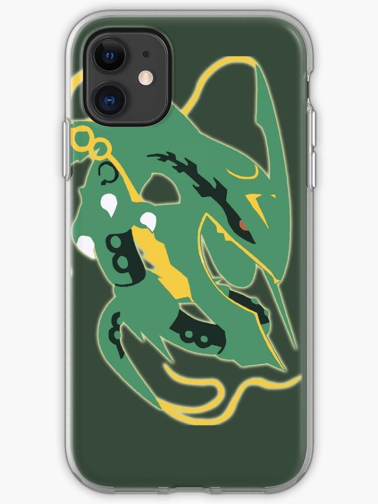 pokemon Mega Rayquaza iphone case