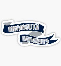 Monmouth University - Style 8 Sticker