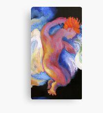 Detail, Boy Angel.  From Winken, Blinken, and Nod Canvas Print