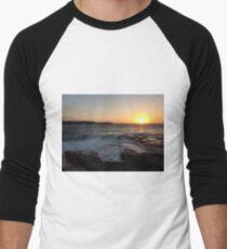 Sunset at La Perouse, Sydney, NSW, Australia Men's Baseball ¾ T-Shirt