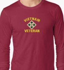 4th Infantry Vietnam Veteran T-Shirt