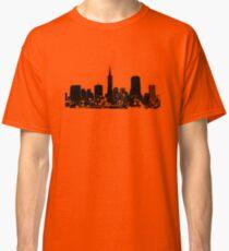 Sucka Free Silhouette, Black Classic T-Shirt