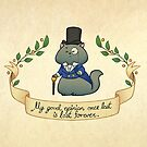Dapper Regency Cat Mug by aimeekitty