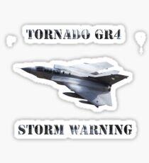 Tornado GR4 Storm Warning Sticker
