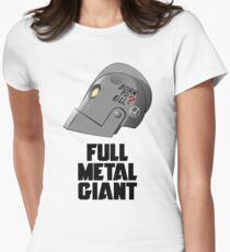 Full Metal Giant Womens Fitted T-Shirt