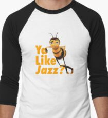 Ya Like Jazz? Men's Baseball ¾ T-Shirt