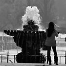 Fountain beauty  by Sparowsong