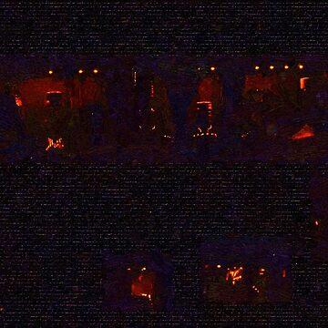 Night Windows by RCdeWinter