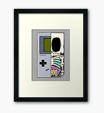 Game Boy Dissected B Framed Print