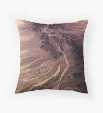 Earth Stream Throw Pillow