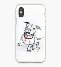 Happy Staffie iPhone Case