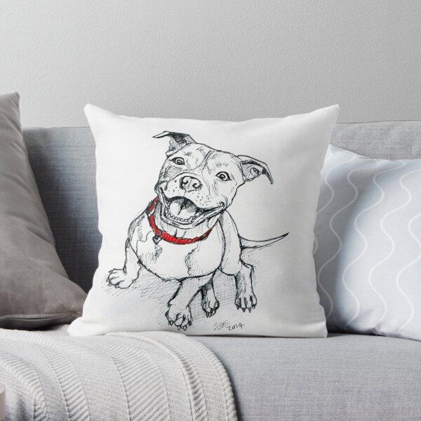Personnalisé Staffordshire Bull Terrier Chien Chiot Housse de Coussin Cadeau