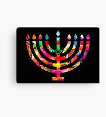 Hanukkah Canvas Print