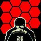 Gendo Ikari Evangelion Super Dad by barrettbiggers