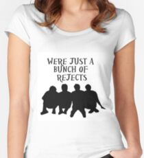 band of rejects Women's Fitted Scoop T-Shirt