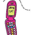 Cat Calling Pink by projectconsent