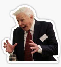 David Attenborough Sticker
