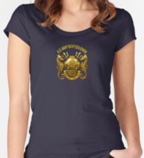 Navy Diver Women's Fitted Scoop T-Shirt