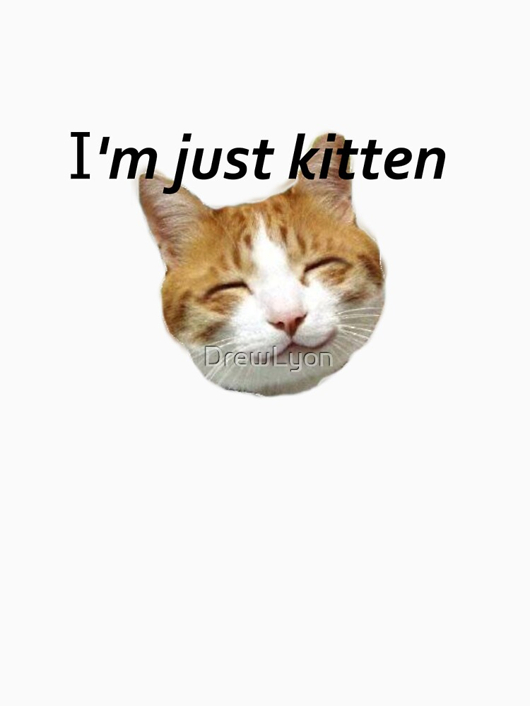 I'm just kitten. by DrewLyon
