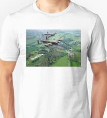 Two Lancasters over West Wycombe T-Shirt